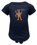 Penn State Infant Mascot Flag Creeper NAVY