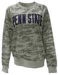 Penn State Woman Gulport Camo Crew