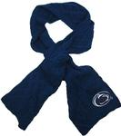 Penn State Women's Cable Knit Scarf