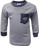 Penn State Infant Striped Pocket Long Sleeve
