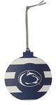 Penn State Candy Stripe Ornament