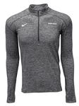 Penn State Men's Nike Heather Element Quarter Zip ANTHR
