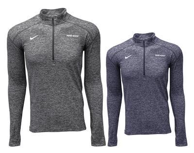 NIKE - Penn State Men's Nike Heather Element Quarter Zip