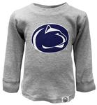 Penn State Youth Waffle Long Sleeve HEATHER GREY