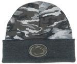 Penn State Camo Cuff Knit Hat