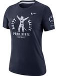 Penn State Nike Women's Rivarly T-Shirt NAVY
