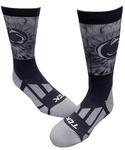 Penn State Tie Dye Crew Socks NAVY