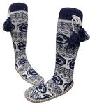 Penn State Women's PSU Slipper Sock Muk Luks