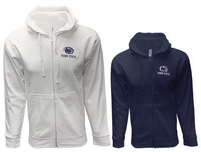 The Family Clothesline - Penn State Full Zip Logo Block Hood