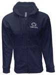 Penn State Full Zip Logo Block Hood NAVY
