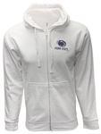 Penn State Full Zip Logo Block Hood WHITE
