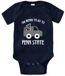 Penn State Infant I'm Ready Creeper NAVY