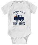 Penn State Infant I'm Ready Creeper WHITE
