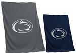Penn State Screened Logo Blanket