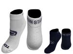 Penn State Low Cut Stripe Adult Sock