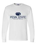 Penn State Adult Volleyball Long Sleeve WHITE