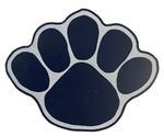 Penn State Acrylic Paw Magnet NAVYWHITE