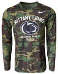 Penn State Nike Veterans Long Sleeve T-Shirt