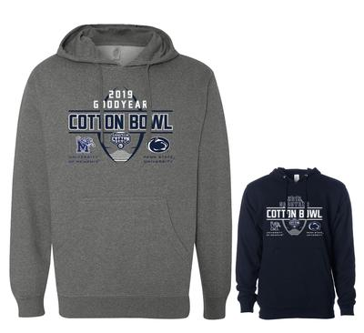 The Family Clothesline - Penn State Goodyear Cotton Bowl Dueling Hooded Sweatshirt