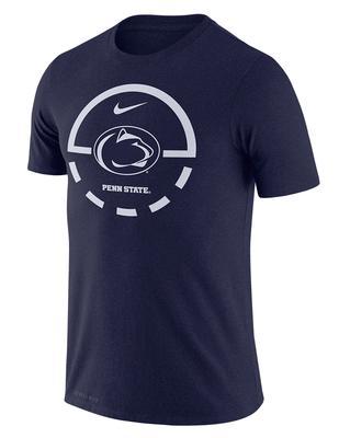 NIKE - Penn State Nike Men's Dri-Fit Basketball Legend 2.0 T-Shirt
