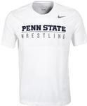 Penn State Nike Men's Wrestling T-shirt WHITE
