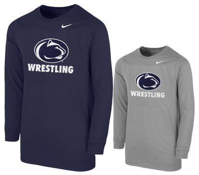 NIKE - Penn State Nike Youth Wrestling Long Sleeve T-shirt