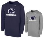 Penn State Nike Youth Wrestling Long Sleeve T- Shirt