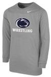 Penn State Nike Youth Wrestling Long Sleeve T-shirt DHTHR