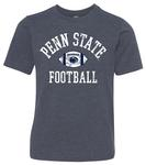 Penn State Youth Vintage Football T-shirt VNAVY