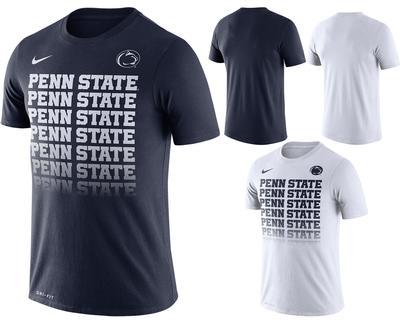 NIKE - Penn State Nike Men's Fade T-Shirt