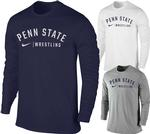 Penn State Nike Men's Wrestling Long Sleeve T- Shirt