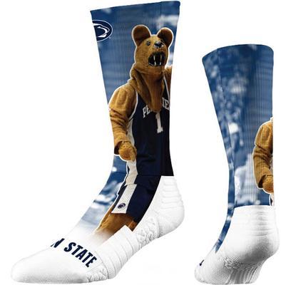 Strideline - Penn State Basketball Mascot Crew Sock