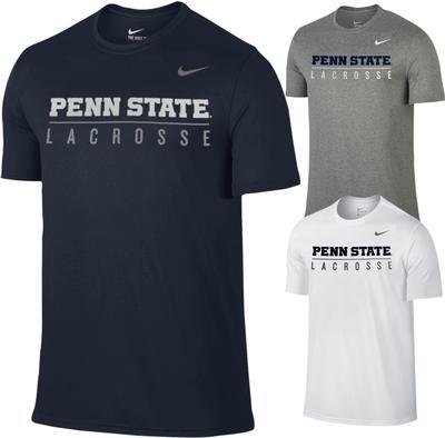 NIKE - Penn State Nike Men's Lacrosse Bar T-Shirt