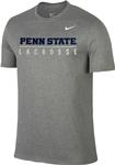 Penn State Nike Men's Lacrosse Bar T-Shirt DHTHR