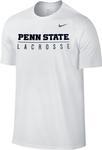 Penn State Nike Men's Lacrosse Bar T-Shirt WHITE