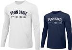 Penn State Nike Lacrosse Long Sleeve Shirt