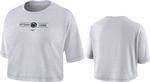 Penn State Nike Women's Slub Cropped T-Shirt WHITE
