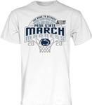 Penn State Adult March Madness T-Shirt WHITE
