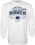 Penn State Adult March Madness 2020 Long Sleeve WHITE