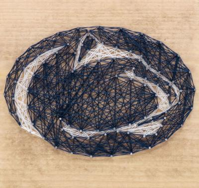 Sporticulture - Penn State String Art Craft Kit