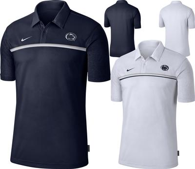 NIKE - Penn State Nike Men's Sideline Dry Polo