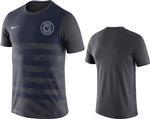 Penn State Nike Men's Legend Stripe T-shirt NAVYGREY