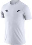 Penn Stae Nike Men's Futura T-shirt WHITE