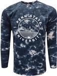 Penn State Tie Dye Crinkle Long Sleeve Shirt