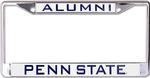 Penn State Alumni Metallic Car Frame