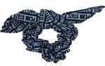 Penn State Women's Block Scrunchie NAVYWHITE