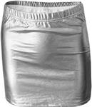 Zoozatz Women's Metallic Skirt