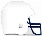 Penn State Wood Helmet