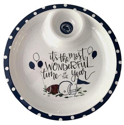 Magnolia Lane - Penn State Chip and Dip Melamine Platter