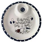 Penn State Chip and Dip Melamine Platter